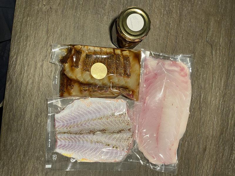 鯛一筋 愛媛県産地魚のセット