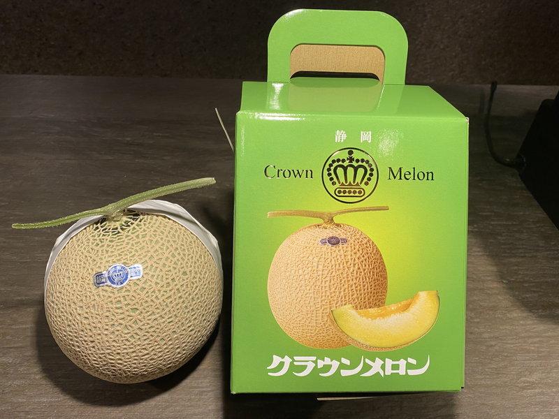 最高級静岡県産クラウンメロン約1.5キロサイズ1個